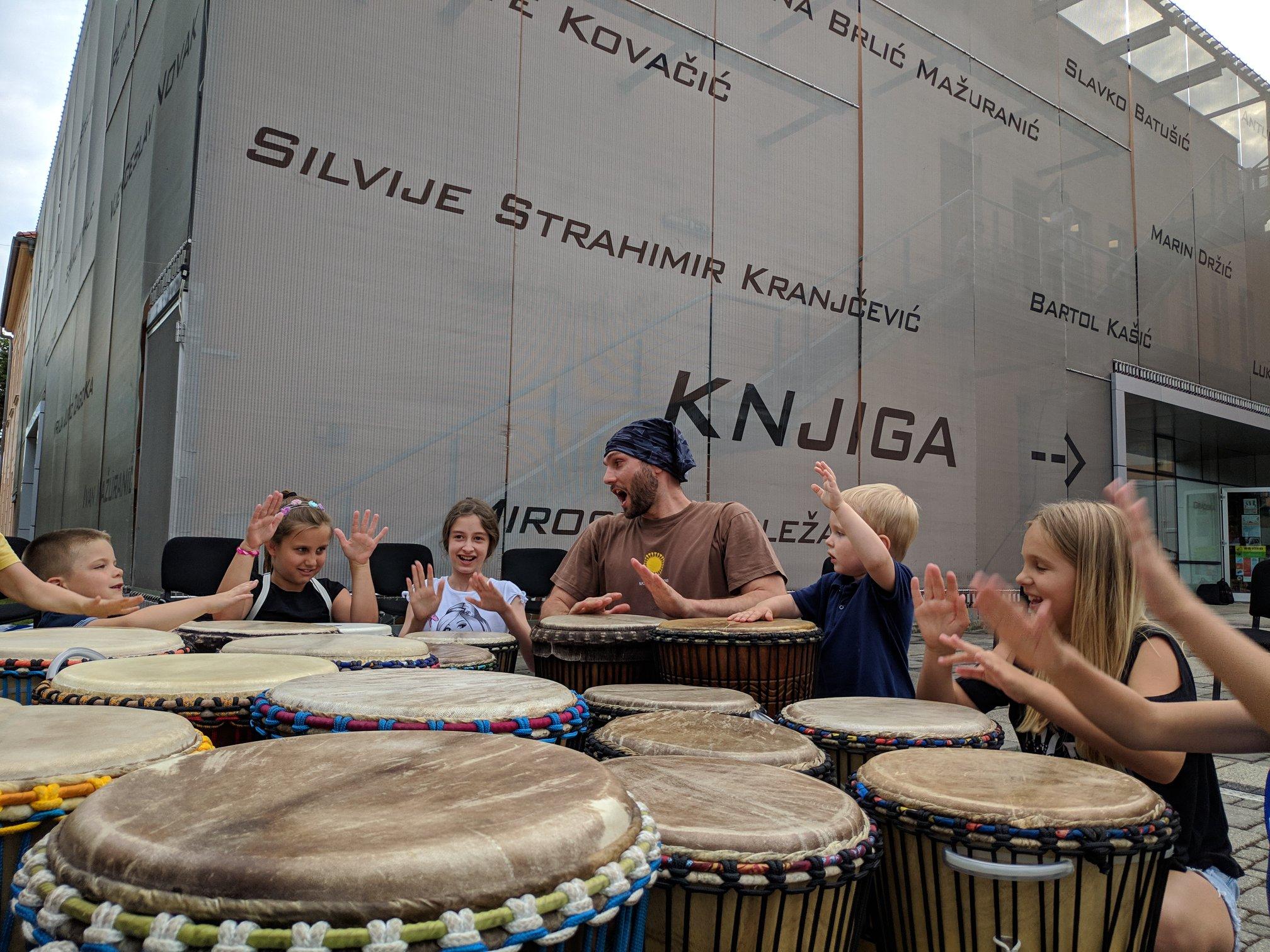 radionica bubnjanja