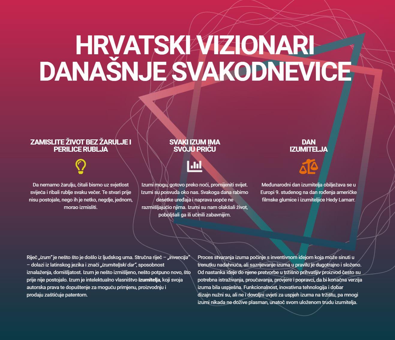 hrvatski vizionari današnje svakodnevice